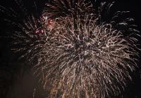 Novoroční ohňostroj - Turnov