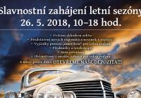 Slavnostní zahájení sezony 2018 Muzeum Veteránů