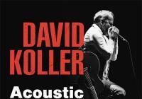 David Koller Acoustic Tour - Klub kultury Uherské Hradiště