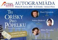 Autogramiáda Tři oříšky pro Popelku - Atrium Flora Praha
