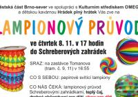 Lampionový průvod - Brno sever