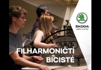 """""""Bicisté"""" České filharmonie"""