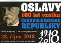 Oslavy vzniku republiky s lampionovým průvodem - Rokycany