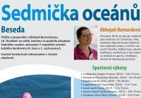 Sedmička oceánů - beseda s Abhejali Bernardovou