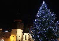 Rozsvícení vánočního stromu - Náchod