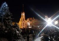 Rozsvícení vánočního stromu - Trutnov