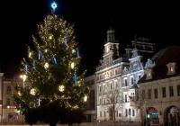 Rozsvícení vánočního stromu - Kolín