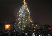 Rozsvícení vánočního stromu - Příbram