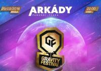 Graviti festival v Arkádách v Praze