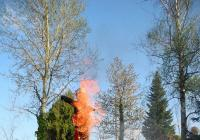 Pálení čarodějnic na hasičárně v Nepomuku