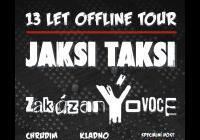 Jaksi Taksi: 13 let offline tour