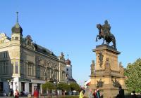 Pomník s jezdeckou sochou krále Jiřího, Poděbrady