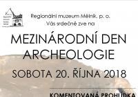 Mezinárodní den archeologie Minice
