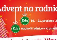Advent na radnici Kroměříž
