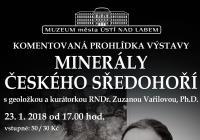 """Výstavou """"Minerály Českého středohoří"""""""