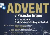 Advent v Písecké bráně - Praha