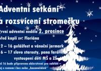 Rozsvícení vánočního stromu - Brno Bosonohy