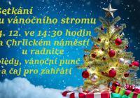Setkání u vánočního stromu - Brno Chrlice