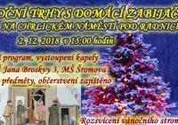 Rozsvícení vánočního stromu - Brno Chrlice