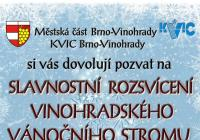 Rozsvícení vánočního stromu - Brno Vinohrady