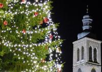 Rozsvícení vánočního stromu - Kutná Hora