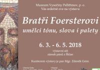 Bratři Foersterovi / umělci tónu, slova i palety
