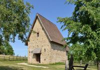 Replika velkomoravského kostela sv. Jana