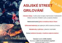 Asijské street grilování
