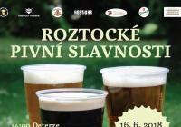 Roztocké pivní slavnosti 2018