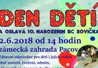 Den dětí - Zámecká zahrada Pacov