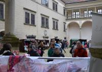 Řemeslné trhy na zámku Telč