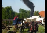 Historická bitva o zámek v Mníšku pod Brdy