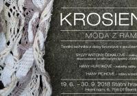 Krosienky - výstava - Hrad Šternberk