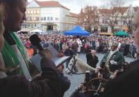 Svatomartinské víno na náměstí - Uherské Hradiště