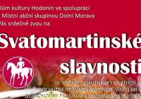 Svatomartinské slavnosti na náměstí města Hodonín