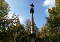 Sloup se sochou sv. Vavřince, Roudnice nad Labem