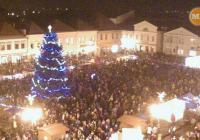 Rozsvícení vánočního stromu - Bruntál