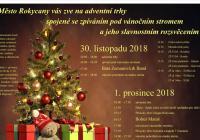 Rozsvícení vánočního stromu - Rokycany