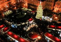 Silvestr pro rodinu na Staroměstském náměstí v Praze