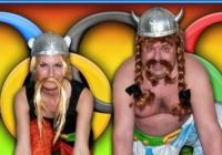 Maškarní pro děti s Asterixem a Obelixem