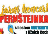 Jarní koncert Pernštejnky a Muzikanti z Jižních Čech