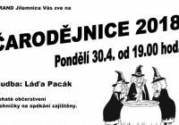 Čarodějnice ve městě Jilemnice