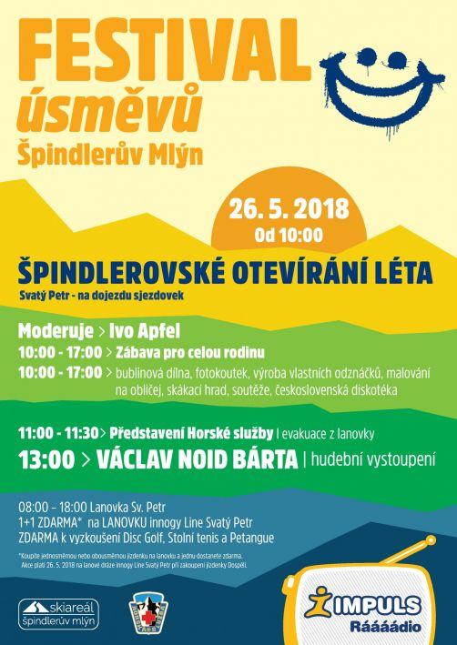 Festival úsměvů - Svatý Petr Špindlerův Mlýn