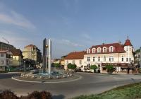 Fontána na náměstí 28. října, Luhačovice