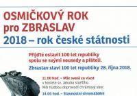 Oslavy založení republiky - Praha Zbraslav