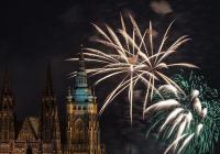 Ohňostroj pod Letnou - výročí vzniku republiky Praha