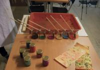Workshop – výroba mramorovaného papíru