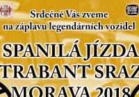 Spanilá jízda – Trabant sraz Morava 2018