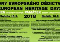 Dny evropského dědictví - Karlovy Vary