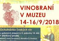 Vinobraní v muzeu